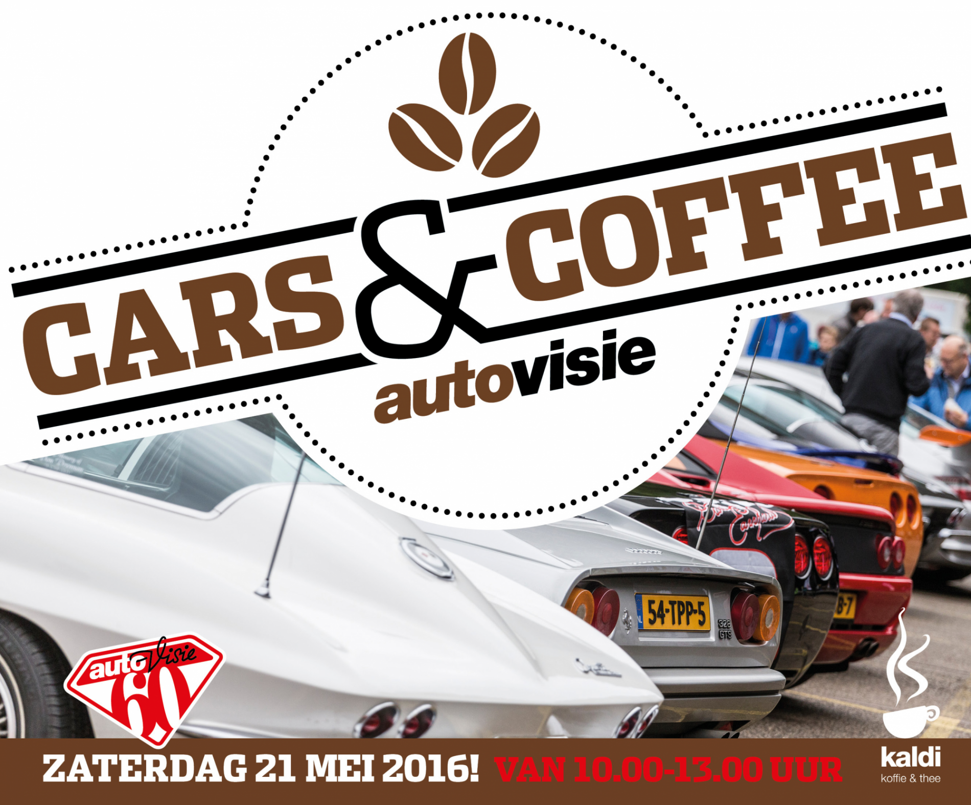 Autovisie Cars and Coffee XXL 21 mei 2016