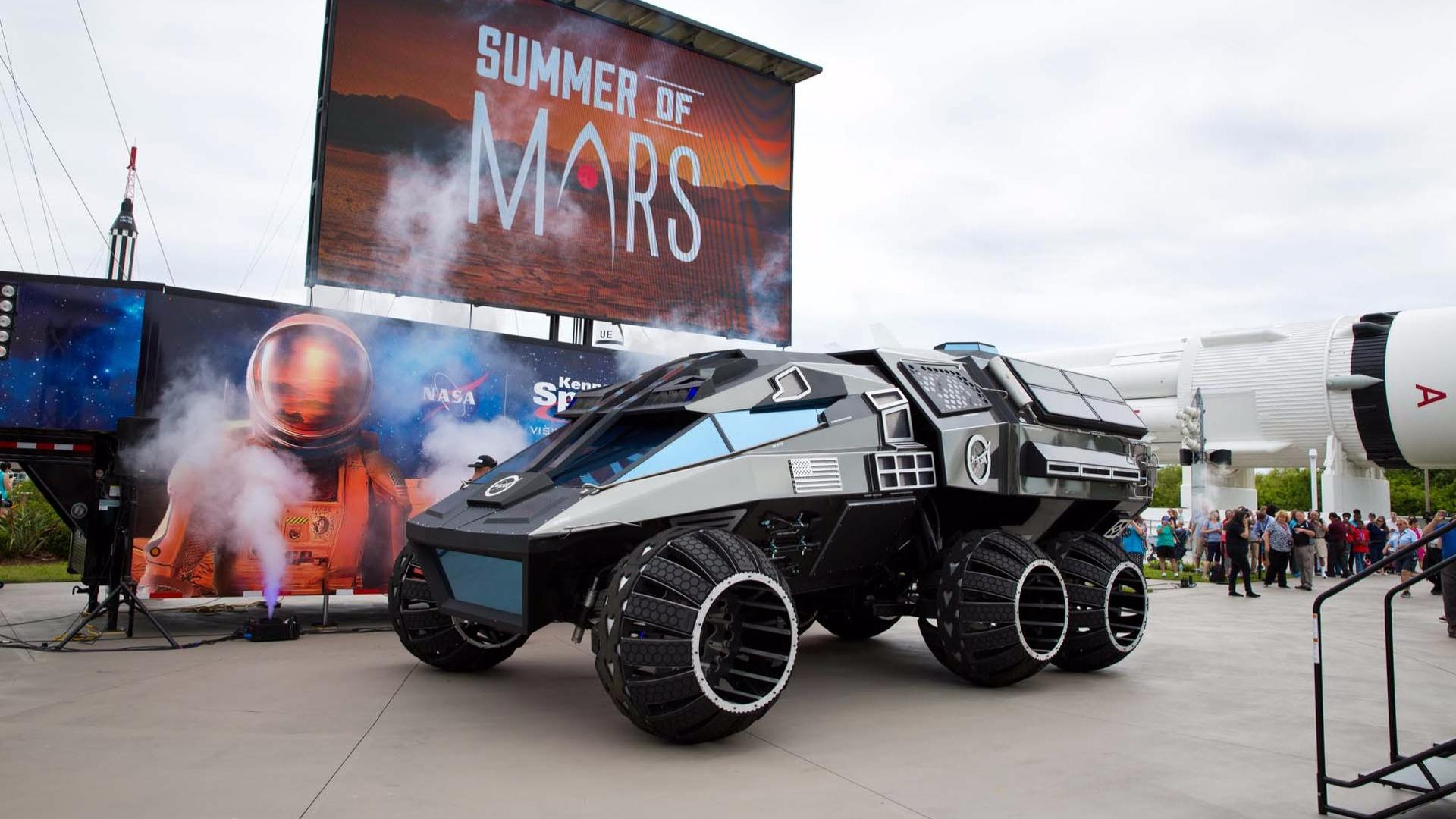 what was the design for the mars rover - photo #33