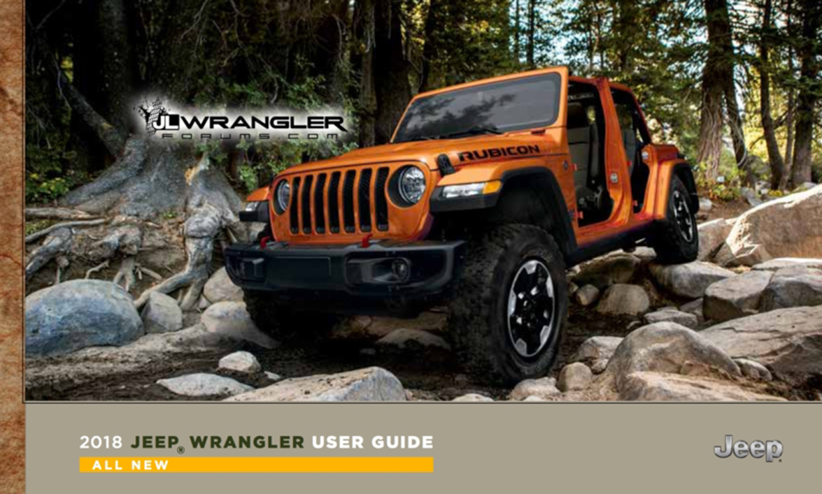 Jeep Wrangler - User Guide - Autovisie.nl