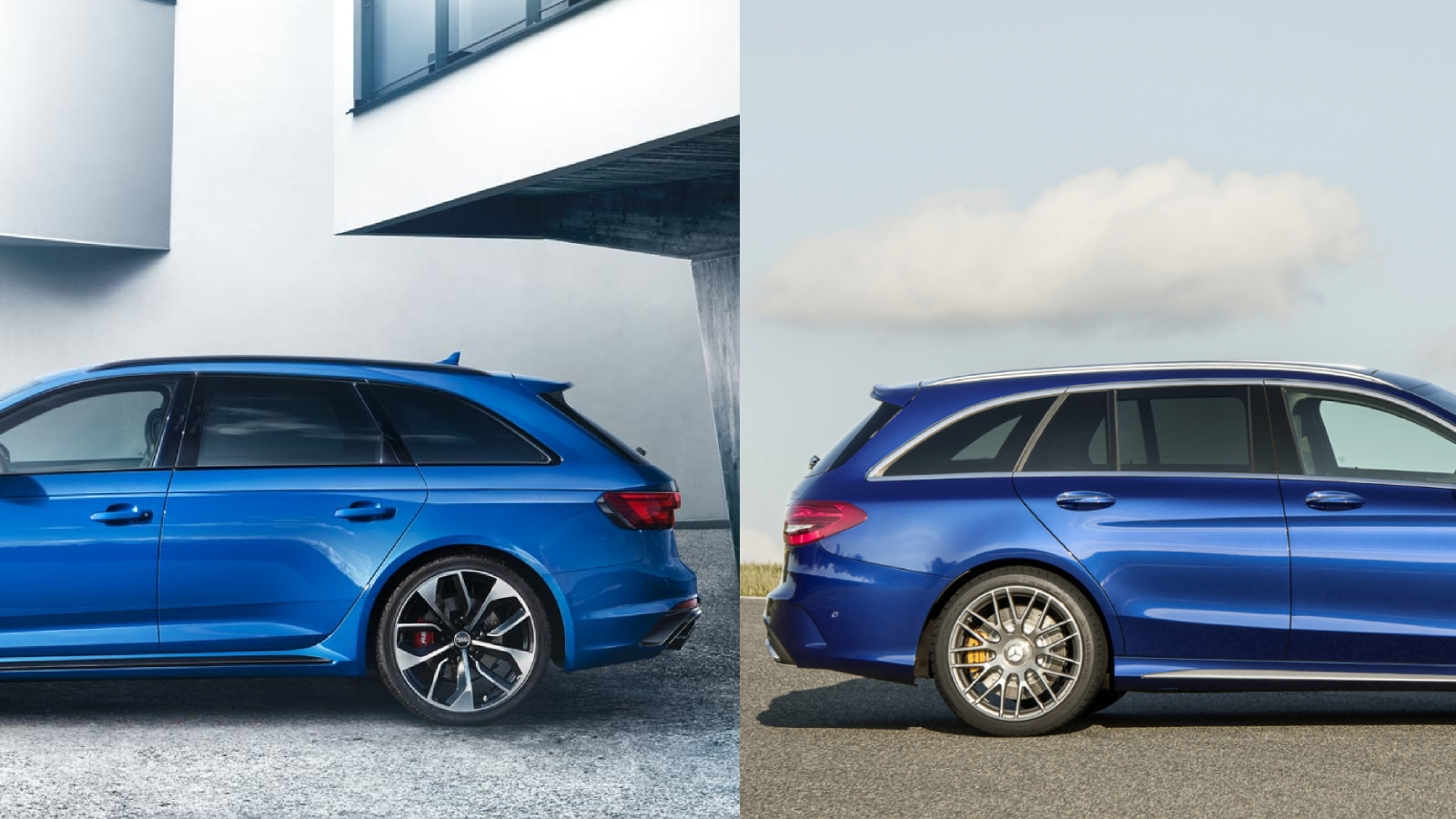 Audi RS4 Avant - Mercedes-AMG C 63 S Estate